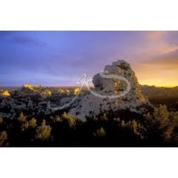 Un rocher des Beaux de Provence