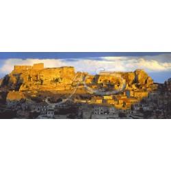 Le chateau des Beaux de Provence en panoramique