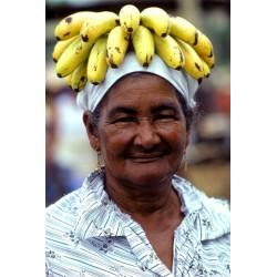 Vénézuela femme bananes