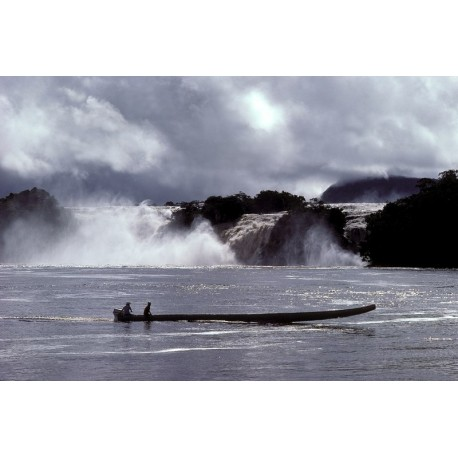 Vénézuela Canaima saut Hacha1925