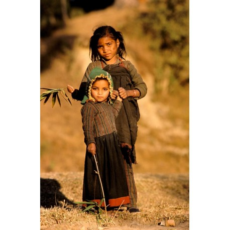 Népal fillettes0886
