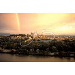 Arc en ciel en Avignon